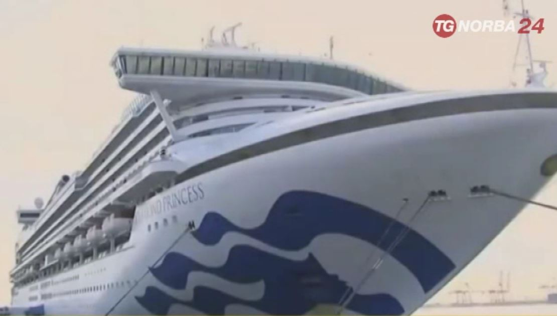 Diamond Princess, un ufficiale di Molfetta resta a bordo